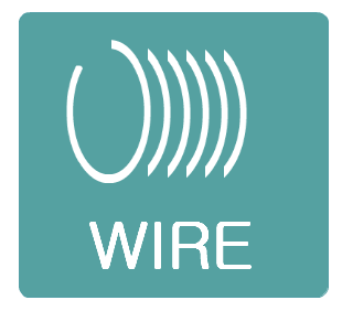 Wire brush filament